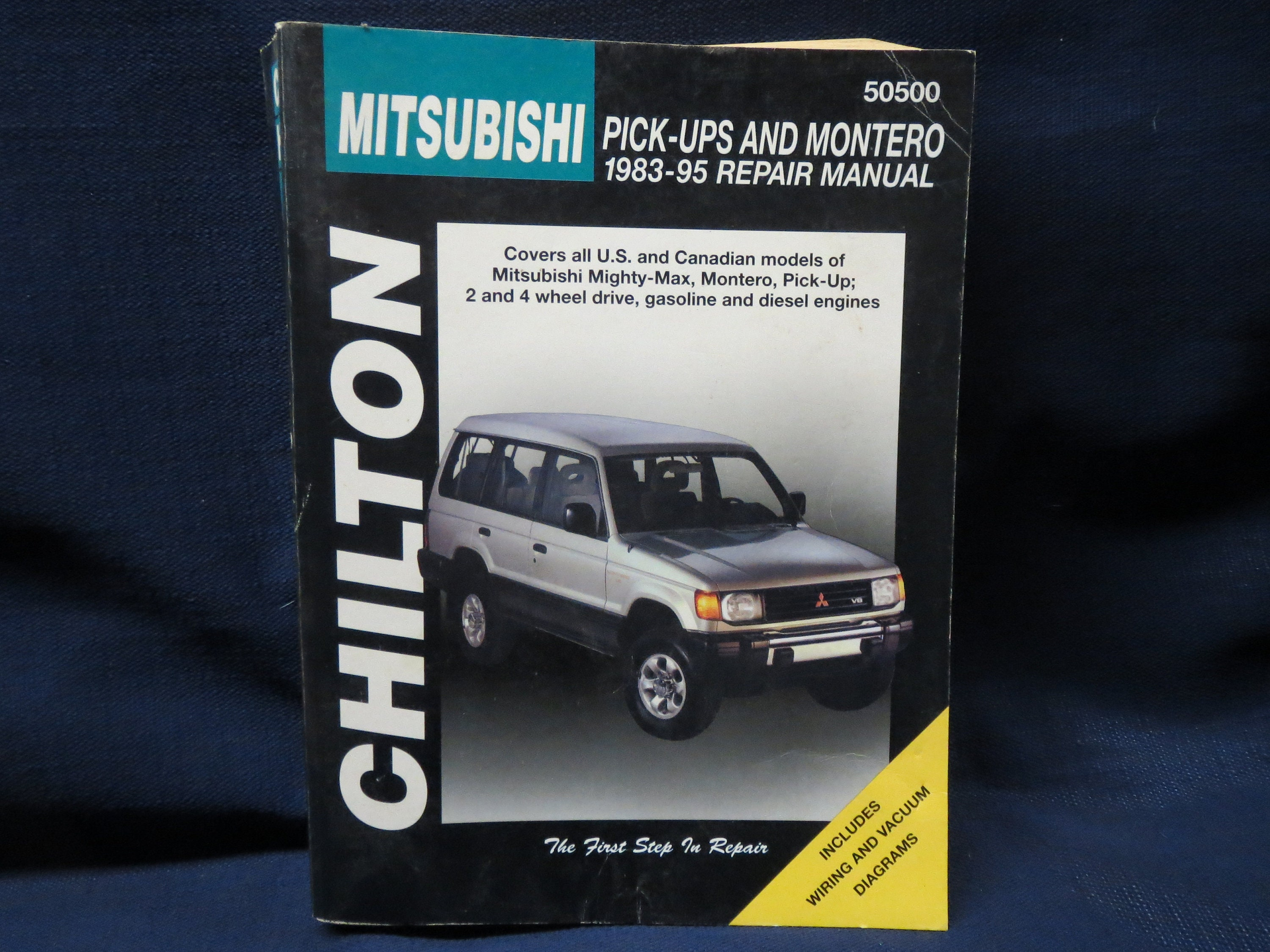 Mitsubishi Mighty Max Engine Diagram Wiring Library 4g13 1983 95 Chiltons Montero Pick Up 2 4 Etsy Zoom