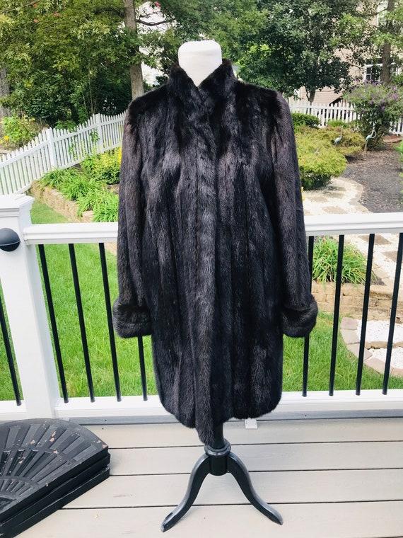 Real Mink Fur Coat, Mahogany Fur Coat, Fur Coat Fo