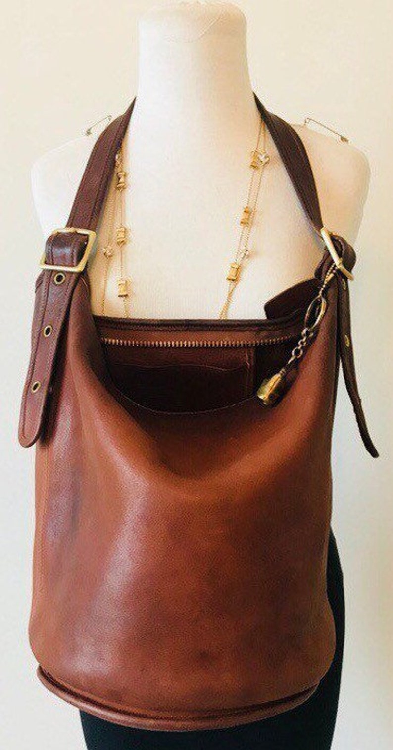 67f4ff2ebd Vintage Coach Duffle Bag XL Coach Bucket Bag Coach Vintage