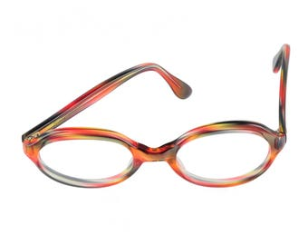 ad73d6c5696 Trans World Eyewear Vintage Eyeglasses (no lens) Neon Pink Tortoise by L.  Evrard 52-22