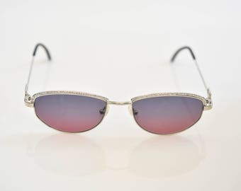 3d21afc12c9 Tiffany Lunettes Sunglasses T789 C.10 23K Gold Plated 56-18-135 Made in  Italy