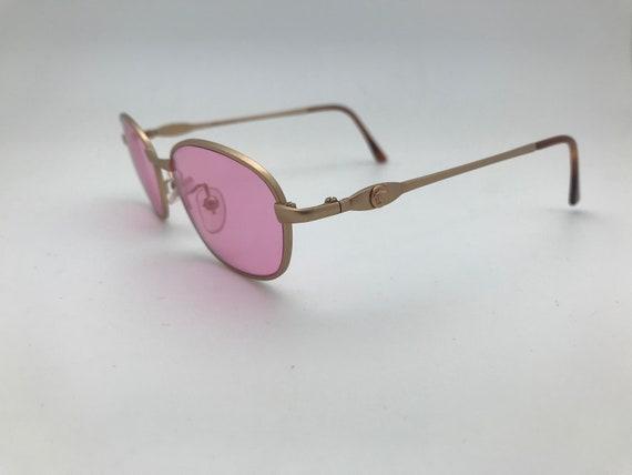 Gianni Versace Sunglasses Pink Mod. G73 50-17-130 - image 4