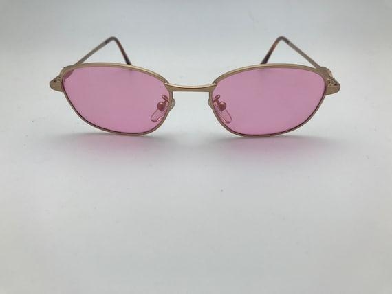 Gianni Versace Sunglasses Pink Mod. G73 50-17-130 - image 1