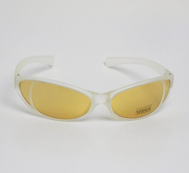 6fa9e80cbe Versus Versace gafas de sol Mod. E87 657/251 Col. Made In | Etsy