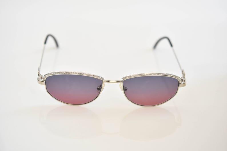 d12f69524e Tiffany gafas de sol Lunettes T789 C.10 23K oro plateado | Etsy