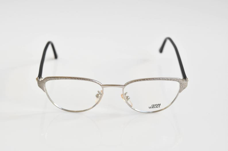 3bffc01b50 Gianni Versace Eyeglasses Mod. G95 Col. 01M 51-18-132 Made in Italy