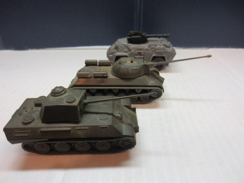 Stalin DGBM Panther DBGM Miniature Tanks Made In Austria Plus Bonus Ridge  Raiders Matchbox