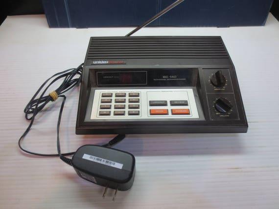 vintage uniden bearcat bc 140 10 channel programmable police rh etsy com Uniden Bearcat Scanner Programming Uniden Bearcat 880