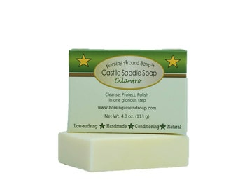 Cilantro Herbal Castile Saddle Soap