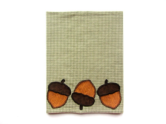 Thanksgiving Tea Towel, Acorn Applique Tea Towel, Kitchen Towel, Dish Towel,  Hand Towel, Thanksgiving Decorations, Fall Decorations From RkyMtnCrafts On  ...