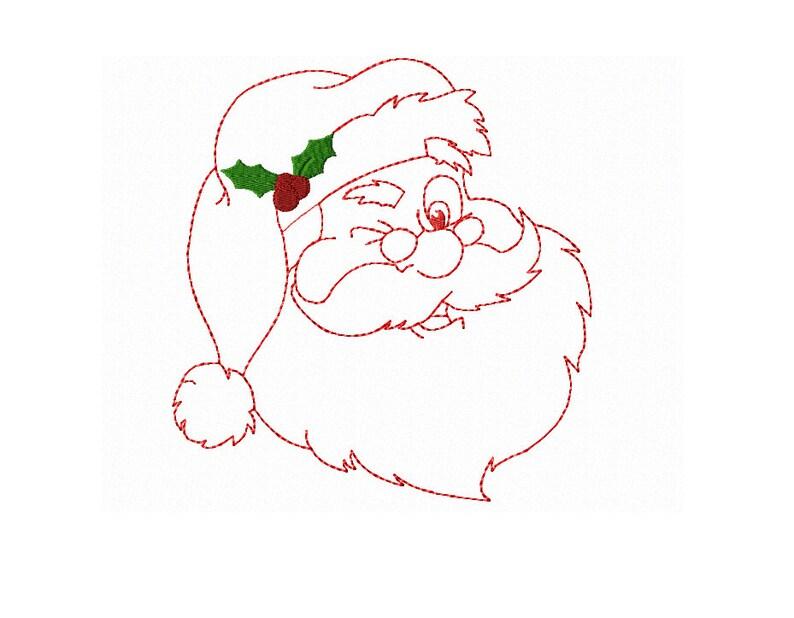 Babbo Natale Ho Ho Ho.Ho Ho Ho Babbo Natale Sulla Sua Via Natale Redwork Design Ammiccanti Santa Macchina Ricamo Design In 3 Dimensioni Instant Download