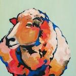 The Sheep - Archival Print, animal art, home decor