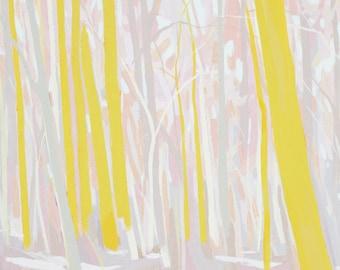 Dreamland Part II - Archival Print, modern landscape, nature, tree print