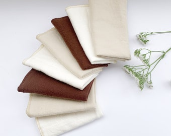 CHOOSE YOUR COLOURS 8 Unpaper Towel | Paperless Towel | Reusable Cloth | Zero Waste Kitchen | Reusable Paper Towel | Cleaning Cloth |