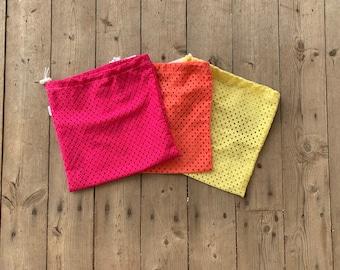 CHOOSE YOUR COLOUR Mesh Laundry Bag | Delicate Wash Bag | Lingerie Laundry Bag | Bra Wash Bag | Reuable Facial Round Bag | Mesh Wash Bag