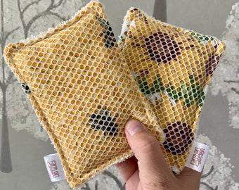 Reusable Sponge   Unsponge   Washable Dish Sponge   Eco Friendly Kitchen   Zero Waste Kitchen   Reusable Kitchen Dish Cloth   Dish Scrubber