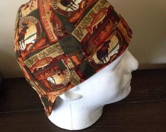 Reversible Welding Cap, Surgeon Hat, welders cap