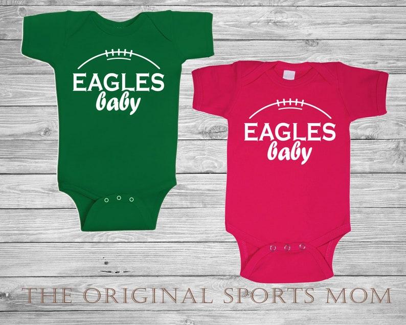Baby bodysuit Newest fan Philadelphia Eagles football One Piece jerse