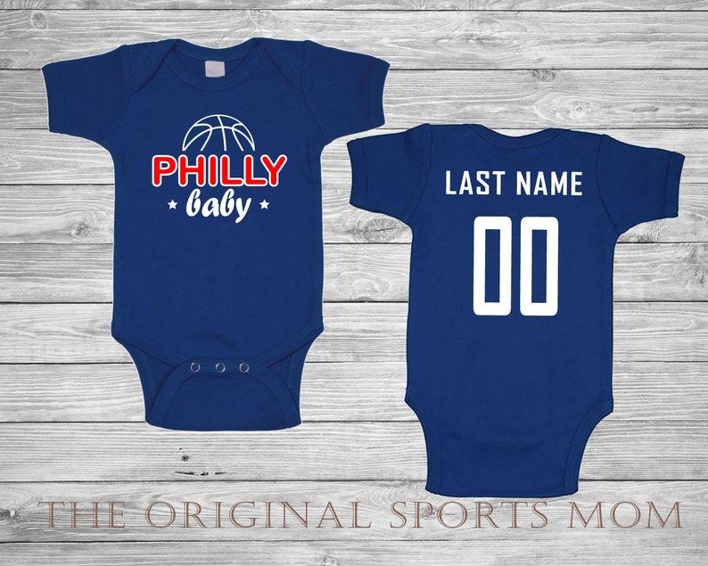 68781980241 Personalized Baby s Basketball Jersey-Style One Piece Bib