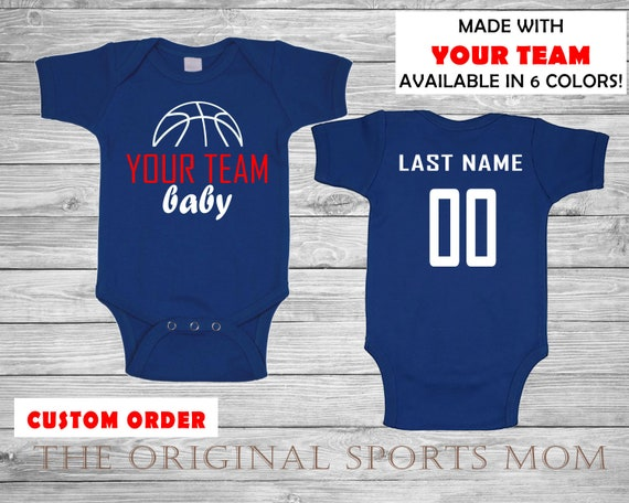 Custom Personalized Baby s Basketball Jersey-Style One  6f8781e05