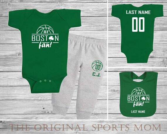 3pc Personalized Boston Celtics Jersey-Style One  e168bc8ee