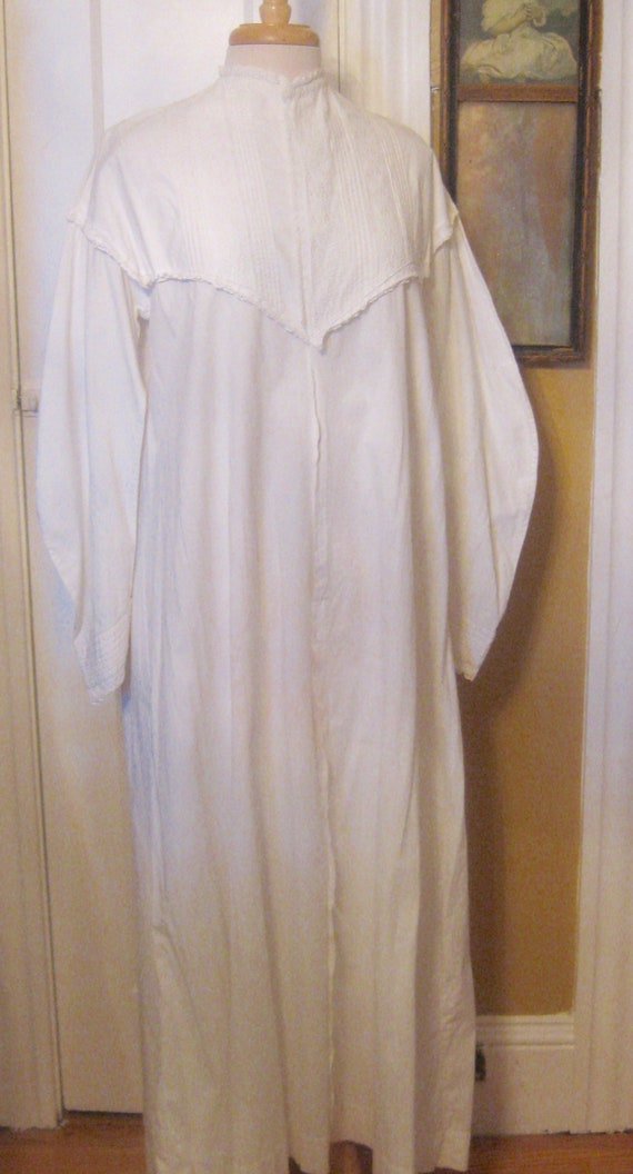 Victorian Embroidered Nightgown