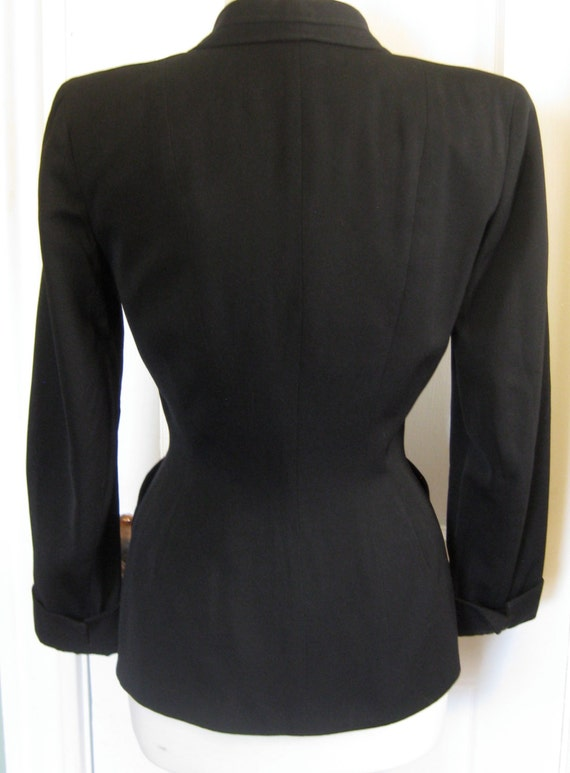 1940's Wool Gabardine Tailored Jacket - image 5