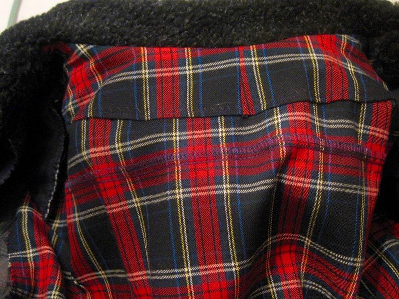 VictorianDickensian Mens/' Plaid Frock Coat