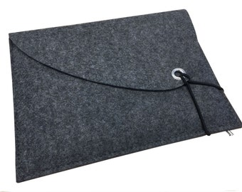 grey felt case for iPad Pro 105/11 with Keyboard tailor-made sleeve for iPad Air with Logitech keyboard natural grey felt tablet softcover