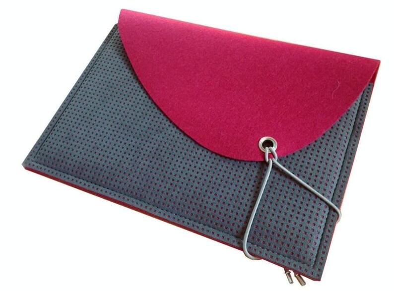 Feminine colorful laptop case Alcantara felt soft cover  ffcfac9e807c