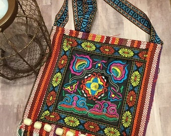 Beautiful tapestry shoulder messanger bag