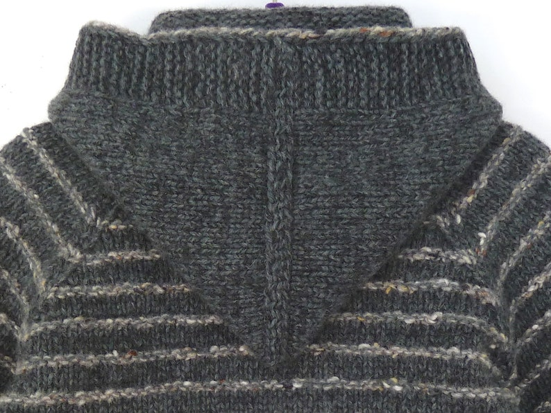 a0b3c61cfb59 Knit baby sweater   hat set. Hand knit baby clothes boys