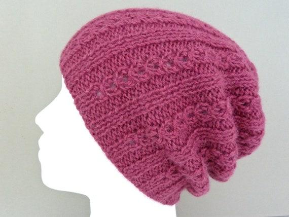 533674607248 100% alpaca hat. Womens beanie. Hand knit hat. Girls beanie