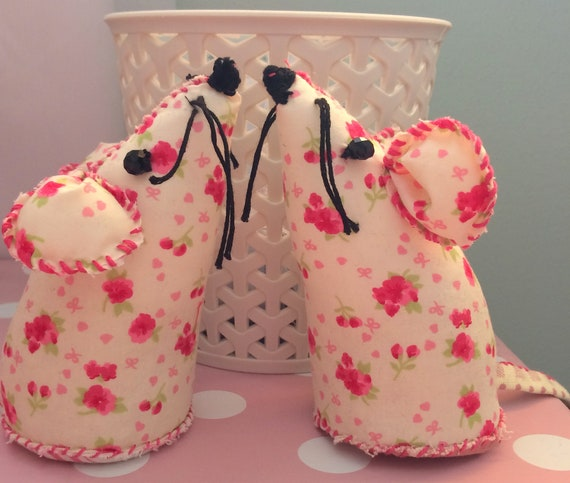 Pincushion Mice Twins Sisters Sewing Gift Birthday Gift Etsy