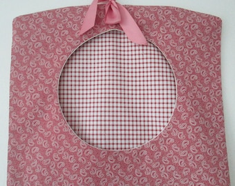 Clothes Pin Bag, Peg Bag, Pink Peg Bag, Gifts for the Home, Housewarming Gift, New Home, Traditional, Wife Gift, Birthday Gift