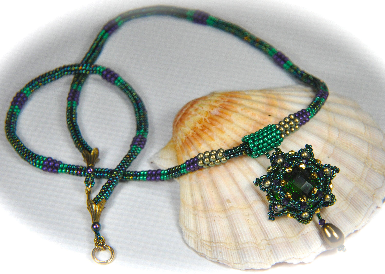 Perles collier kit kit kit «Shining Star» toutes les perles et tutoriel photo imprimée par Agnieszka Watts 70cb0c