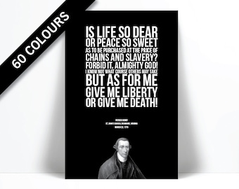 as for me give me liberty or give me death