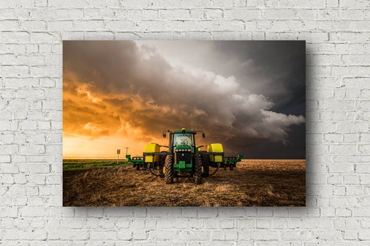 Farm Canvas Photography Wall Art Gallery Wrapped Canvas of | Etsy