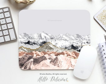 Mousepad Mountains Mousepad Rocky Mountains Mouse Mat Nature Mouse Pad Office Mousemat Rectangular Mousemat Print Mousepad Round 76.