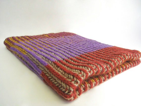 Baby Blanket Knitting Pattern Knitted Blanket Pattern Etsy