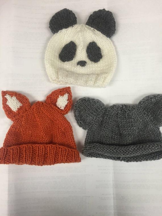 d8eb76578ac 50%OFF Little foxy panda hats your choices newborn hat