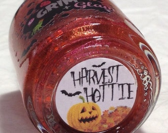 Harvest Hottie Nail Polish (Halloween Nail Polish,Duochrome/Shimmer/Metallic Glitter Nail Polish,Nail Art,Nail Care,Bath,Beauty,Makeup)