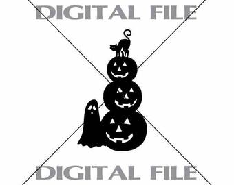 Svg Halloween Themed Cutting File Kwd004f Dxf Svg Eps Png Etsy