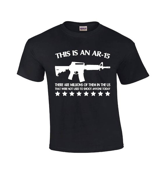 Details about American Flag Guns And Ammo AR15 America USA Mens T shirt