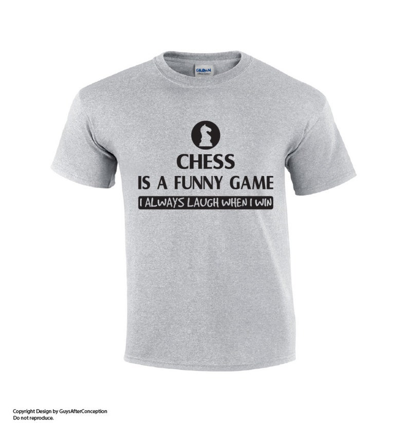 0657dcba9 Chess Is A Funny Game Chess T-shirt Funny Chess T-shirt   Etsy