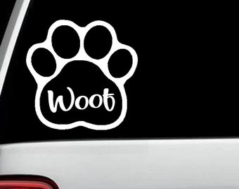Trucks SUVs You Had Me At Woof DecalBumper Sticker for Cars