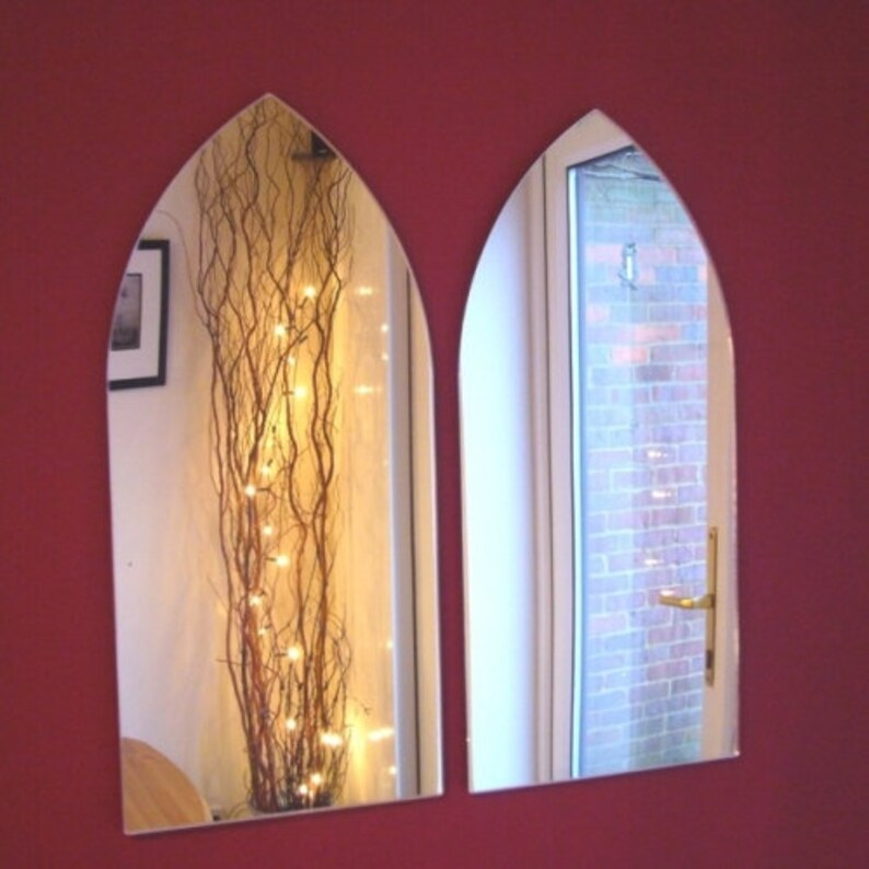 Gothic Arch Mirrors  Pack of Two or Pack of Three Mirrors image 0