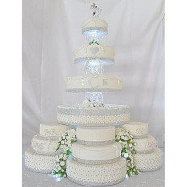 Size 6 7 8 9 10 11 12 Plain Square Mocha Brown Mat Acrylic Cake PillarsCake Separators for Wedding  Party Cakes 10cm 4 High