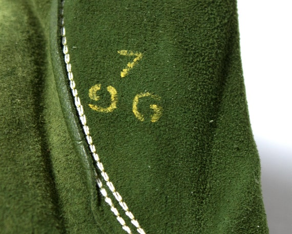 Vintage 1950s Gloves | 50s CLAIRE MCCARDELL Green… - image 7