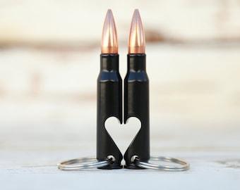 Valentine's Day Gift for Him. 7.62mm Keychain Bullet Bottle Opener. As seen on Shark Tank! Husband Gift. Boyfriend Gift. Military Gift.